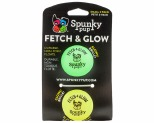 SPUNKY PUP FETCH & GLOW BALL SMALL 2-PACK