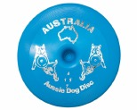 AUSSIE DOG FLOPPY DISC BLUE