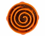 OUTWARD HOUND FUN FEEDER BOWL ORANGE