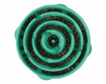 OUTWARD HOUND FUN FEEDER BOWL TEAL