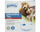 PAWISE INTERACTIVE DOG TREAT TOY SPINNING WHEEL