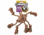 CHEWERS OCTOPUS ORANGE MEDIUM