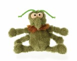 FUZZYARD PLUSH TOY 15CM - SCRATCHY THE MINI FLEA