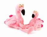 FUZZYARD PLUSH DOG TOY FLO THE FLAMINGO LARGE