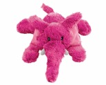 KONG COZIE ELMER ELEPHANT PLUSH DOG TOY SMALL