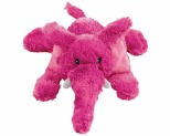 KONG COZIE ELMER ELEPHANT PLUSH DOG TOY MEDIUM