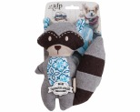 ALL FOR PAWS (AFP) VINTAGE MINI CUTIE RACCOON DOG TOY
