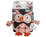 ALL FOR PAWS (AFP) DOG TOY VINTAGE MINI CUTIE OWL
