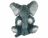 KONG COMFORT KIDDOS ELEPHANT PLUSH DOG TOY SMALL