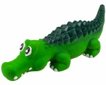 SQUEAKY LATEX CROCODILE - 35CM