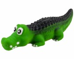 SQUEAKY LATEX CROCODILE - 16CM