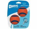 CHUCKIT ULTRA DOG BALL MEDIUM 2 PACK