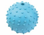 KAZOO RUBBER STUDDED BALL MEDIUM 6CM