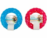 PAWISE DOG TOY DIAMOND RING TREAT DISPENSER MEDIUM