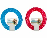 PAWISE DOG TOY DIAMOND RING TREAT DISPENSER LARGE**
