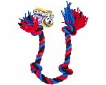 YOURS DROOLLY CHEWERS CLOTH ROPE BLUE 90CM