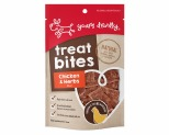 YOURS DROOLLY TREAT BITES - CHICKEN & HERB 100G