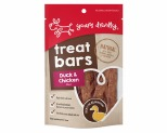 YOURS DROOLLY TREAT BARS - DUCK & CHICKEN 100G