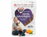 LOVE EM GOURMET LAMB SAUSAGES WITH ROSEMARY AND HONEY 120G**