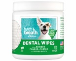 TROPICLEAN FRESH BREATH DENTAL WIPES 50 SHEETS
