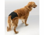 SAVIC DOGGLI HYGIENIC DOG PANTY BLACK SIZE 0 20CM-25CM