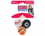 KONG SPORT BALLS FOR DOGS ASSORTED SMALL 3PK