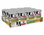 HILL'S SCIENCE DIET YOUTHFUL VITALITY WET DOG FOOD CHICKEN & VEGETABLE STEW ADULT 7+ 12X354G