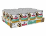 HILL'S SCIENCE DIET PERFECT WEIGHT WET DOG FOOD CHICKEN & VEGETABLES ADULT CANS 12X363G