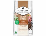 IVORY COAT GRAIN FREE DRY DOG FOOD LAMB AND KANGAROO ADULT 13KG