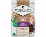 IVORY COAT GRAIN FREE DRY DOG FOOD TURKEY SENIOR REDUCED FAT 2KG