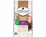 IVORY COAT GRAIN FREE DRY DOG FOOD TURKEY SENIOR REDUCED FAT 13KG