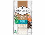 IVORY COAT GRAIN FREE DRY DOG FOOD OCEAN FISH AND SALMON ADULT 13KG