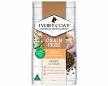 IVORY COAT GRAIN FREE DRY DOG FOOD CHICKEN PUPPY 13KG