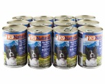 K9 NATURAL CANNED BEEF FEAST 370G X12