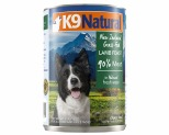 K9 NATURAL CANNED LAMB FEAST 370G