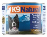K9 NATURAL CANNED BEEF FEAST 170G