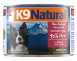 K9 NATURAL CANNED VENISON FEAST 170G**
