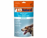 K9 NATURAL BEEF GREEN TRIPE TOPPER 75G