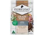 IVORY COAT GRAIN FREE DRY DOG FOOD LAMB AND SARDINE ADULT 2KG