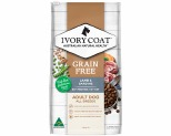IVORY COAT GRAIN FREE DRY DOG FOOD LAMB AND SARDINE ADULT 13KG