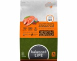 BALANCED LIFE ENHANCED DRY FOOD WITH SALMON PIECES 9KG