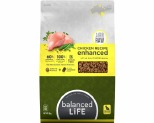 BALANCED LIFE ENHANCED DRY FOOD WITH CHICKEN MEAT PIECES 9KG