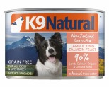 K9 NATURAL LAMB AND KING SALMON  FEAST 170G X 24