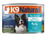 K9 NATURAL BEEF AND HOKI FEAST 170G X 24
