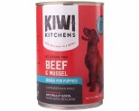 KIWI KITCHENS PUPPY BEEF AND MUSSEL 375GX12