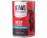 KIWI KITCHENS PUPPY BEEF AND MUSSEL 375G