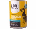 KIWI KITCHENS PUPPY CHICKEN AND MUSSEL 375GX12