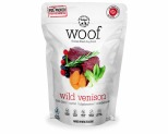 WOOF FREEZE DRIED DOG FOOD WILD VENISON 1.2KG