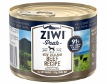 ZIWIPEAK BEEF DOG FOOD 170G