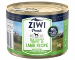 ZIWIPEAK TRIPE & LAMB DOG FOOD 170G